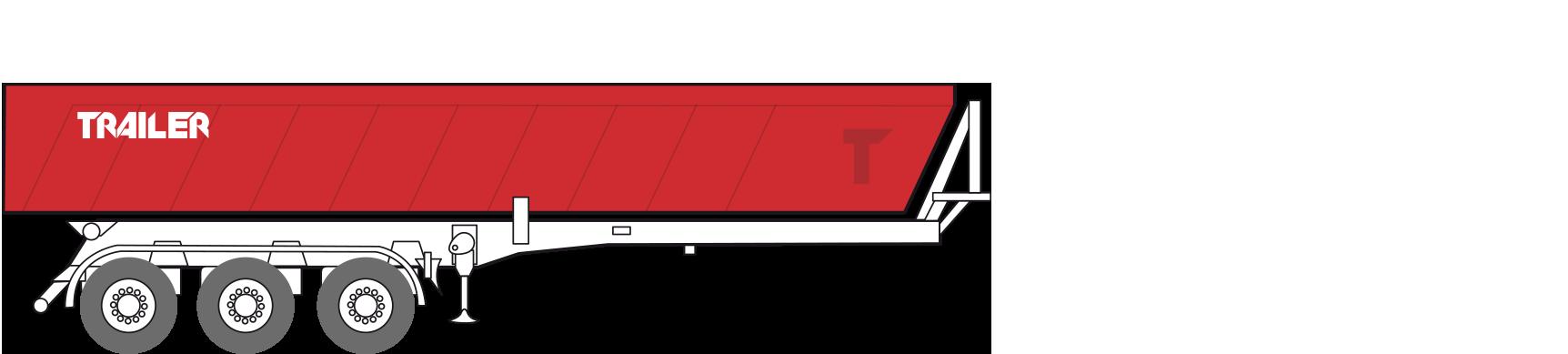 Cassone ribaltabile posteriore
